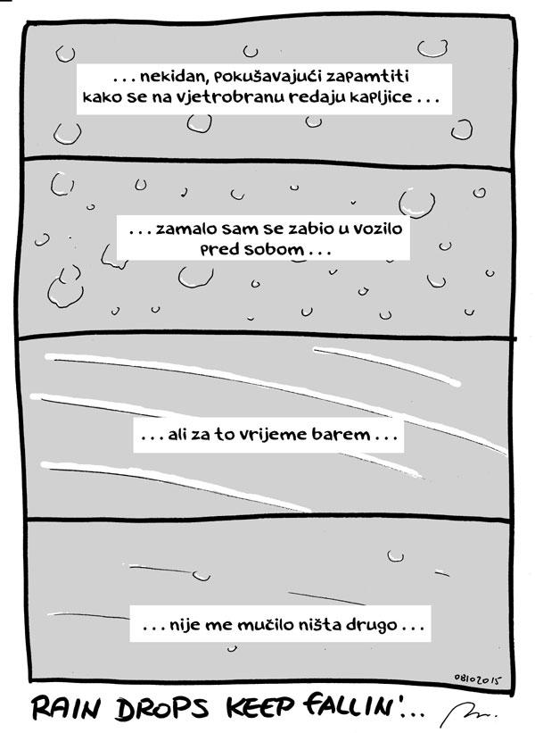 Rain drops keep fallin'